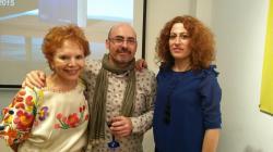 Con Lydia y Nataly