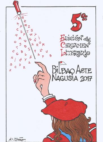Certamen Literario Bilbao Aste Nagusia - portada K-Toño